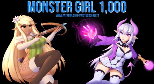 Monster Girl 1,000 [Ep. 2]